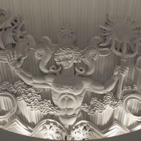 galerie espace art le comoedia brest exposition contemportain art patrimoine historique culture sculptures bas relief cinema theatre batiment art deco
