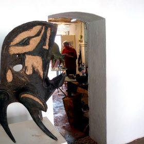taureau marc piano galerie espace art le comoedia exposition sculpture culture ville brest