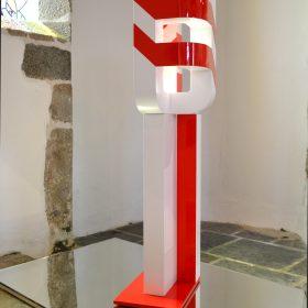 Le signal carre vincent de Monpezat sculpture galerie espace d art le comoedia brest bretagne culture art contemporain