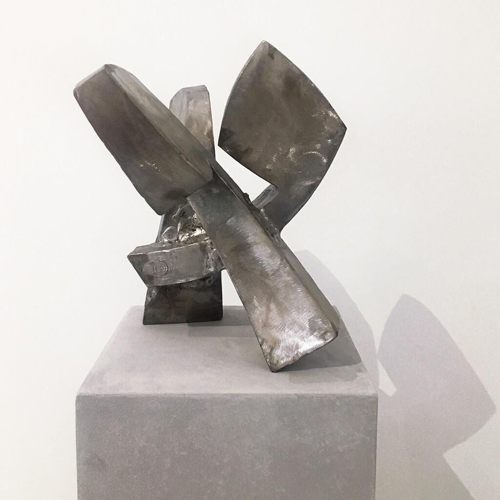 sans titre galerie espace art le comoedia sculpture brest exposition culture susperregui