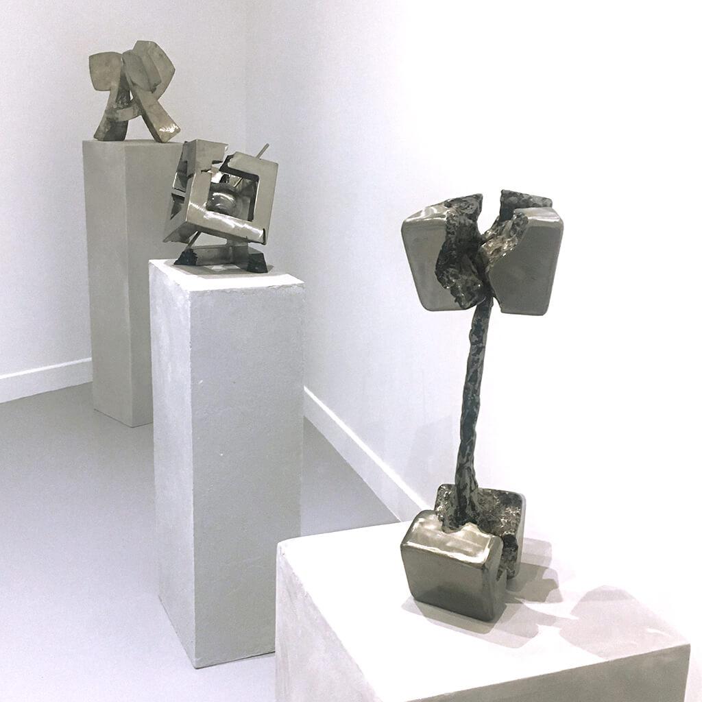 fleur sans titre galerie espace art le comoedia sculpture brest exposition culture susperregui
