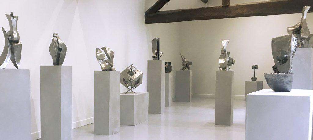 bandeau galerie espace art le comoedia sculpture contemporaine brest exposition culture susperregui