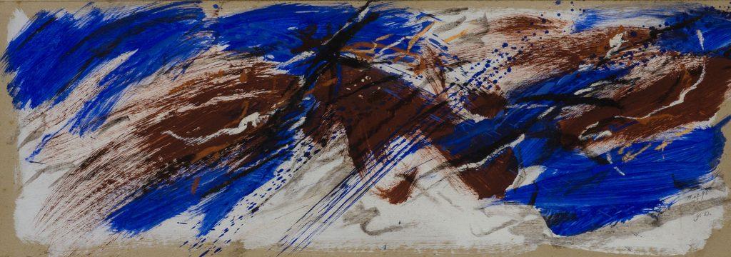 Yvon daniel bandeau exposition contemporaine galerie espace art le comoedia brest