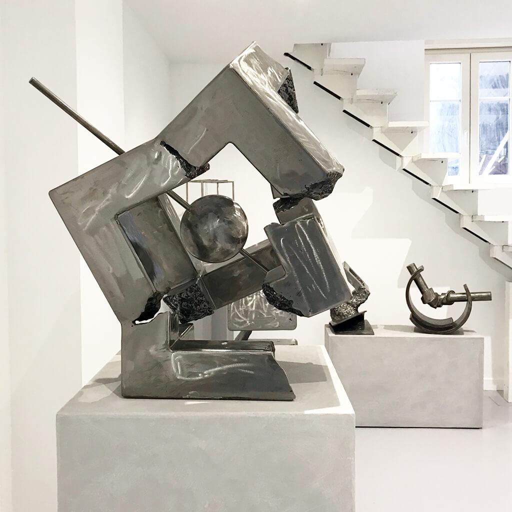 le cube galerie espace art le comoedia sculpture contemporaine brest exposition culture susperregui