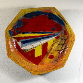 Assiette mp04 bandeau galerie espace art le comoedia brest frinistere culture art contemporain sculpture