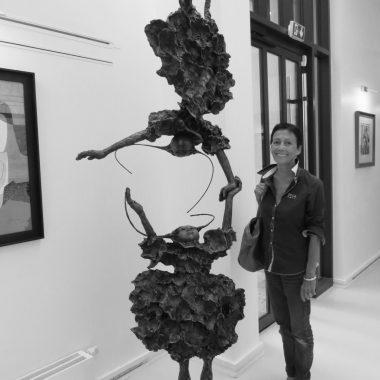 portrait espace art comoedia brest finistere bretagne exposition sculpture sculpteur