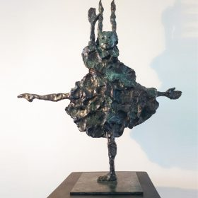 grande danseuse e photo exposition sculpture sculpteur martine kerbaol art culture loisirs tourisme activite brest finistere bretagne galerie contemporain le comoedia culture