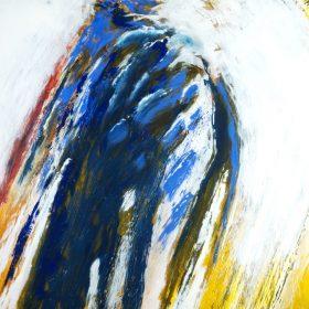 yvon daniel Bleu blanc jaune le comoedia brest finistere bretagne france exposition galerie espace art artiste culture