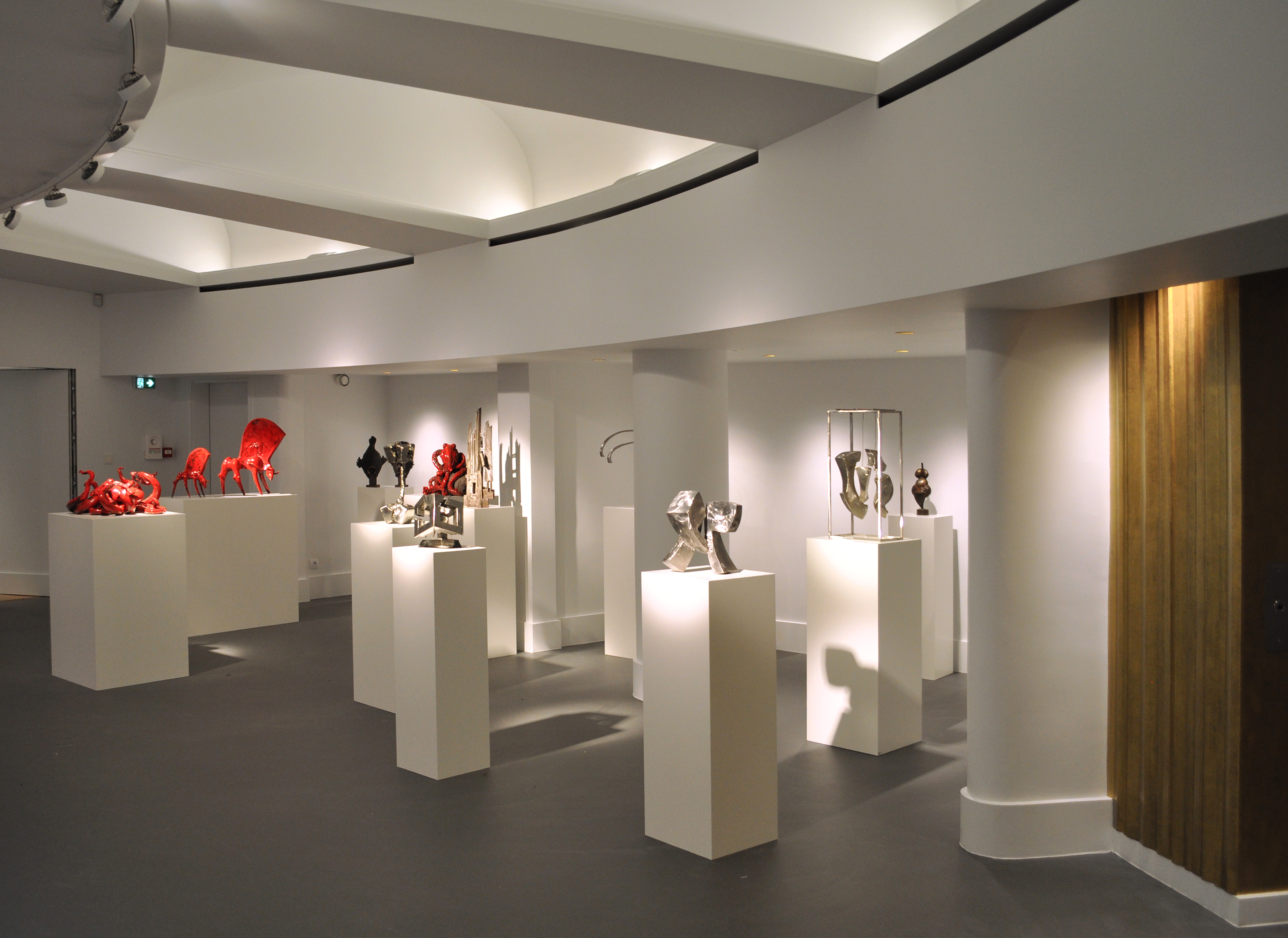 espace art comoedia brest finistere bretagne exposition sculpture sculpteur
