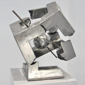 jean bernard susperregui cube2 principale sculpture sculpteur comoedia art brest finistere bretagne