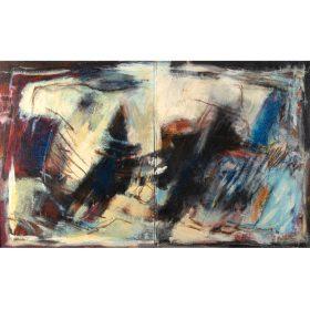 yvon daniel hommage à vulcain Acrylique peinture peintre le comoedia brest finistere bretagne france exposition galerie espace art artiste culture
