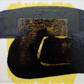 Cali REZO carre or 004 2015 peinture peintre exposition temporaire sculpture le comoedia espace art brest finistere bretagne france culture tourisme