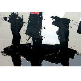 Jacques BLANPAIN Sextete peinture peintre exposition temporaire sculpture le comoedia espace art brest finistere bretagne france culture tourisme