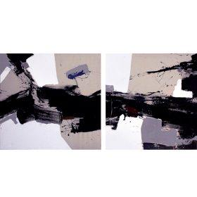 Jacques BLANPAIN un square dance peinture peintre exposition temporaire sculpture le comoedia espace art brest finistere bretagne france culture tourisme