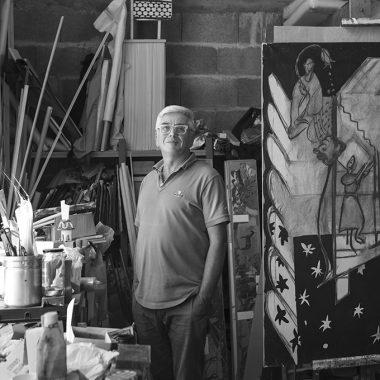 Photographie portrait de Loic Madec artiste contemporain exposition galerie espace art le Comoedia brest