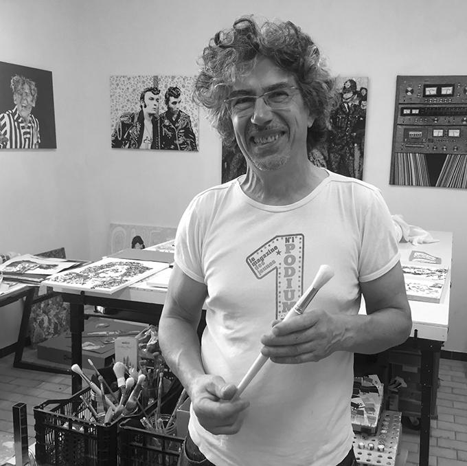 bandeau gordini perimon art sculpture sculpteur espace comoedia brest portrait artiste