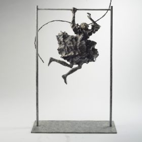 Au secour martine kerbaol sculpture sculptrice exposition temporaire espace art le comoedia brest finistere bretagne culture tourisme