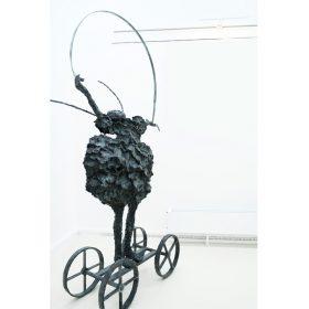 Petit ruban martine kerbaol sculpture sculptrice exposition temporaire espace art le comoedia brest finistere bretagne culture tourisme
