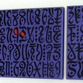 tryptique page artiste jean yves andre exposition espace art comoedia brest finistere bretagne culture tourisme