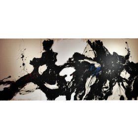 art contemporain espace art le comoedia exposition finistère brest tableau noir est une couleur