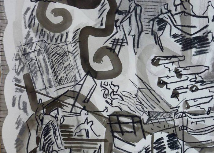 Brest. « Le noir, pour moi, c'est le dessin »
