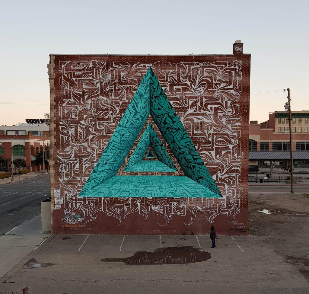 Astro Stockton Us artiste de la galerie espace art le Comoedia Brest exposition art urbain street art graff