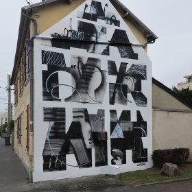 LOutsider Palma artiste de la galerie espace art le Comoedia Brest exposition art urbain street art graff finistere