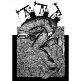 Collage Exploitation de Levalet artiste de la galerie espace art le Comoedia Brest exposition art urbain street art