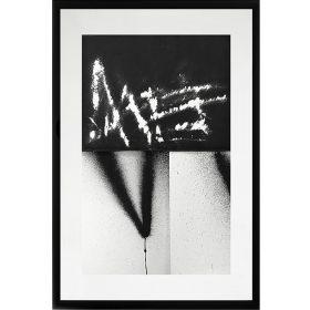 DT 002 de Soemone exposition art urbain galerie espace art le Comoedia noir et blanc