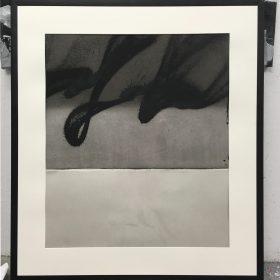 Acrylique et encre sur papier encadré de Soemone exposition art urbain galerie espace art le Comoedia