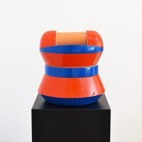 Sculpture Vincent de Montpezat art contemporain artiste de la galerie espace art le Comoedia Brest exposition art urbain street art