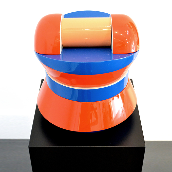 Sculpture art contemporain Vincent de Montpesat artiste de la galerie espace art le Comoedia Brest exposition art urbain street art