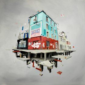 BYRRH de Wen2 exposition art urbain toile galerie art le Comoedia Brest Street art