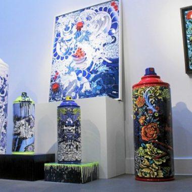 Street art : Le Comoedia sous les bombes