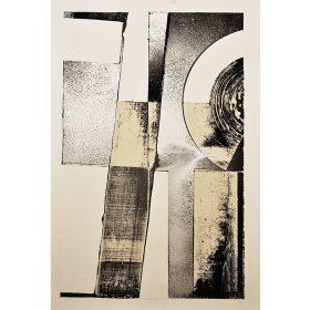 abstraction typographique 3 de LOutsider exposition art urbain galerie espace art le Comoedia