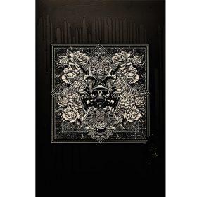 Black Drips de Julien Soone ceramique et metal noir et blanc exposition art urbain galerie espace art le Comoedia