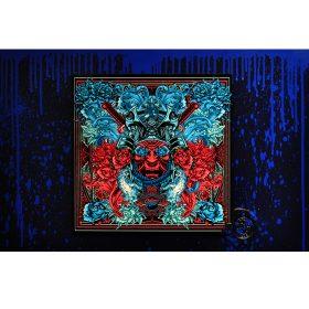 Samourai Peonies de Julien Soone ceramique et metal exposition art urbain galerie art le Comoedia