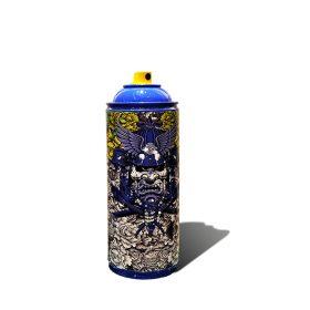 Yellow Peonies 80 de Julien Soone exposition art urbain sculpture bombe aerosol galerie espace art le Comoedia