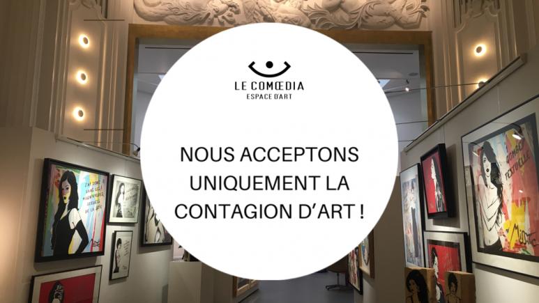 le comoedia espace art galerie exposition vente bandeau site exceptionnel brest finistere bretagne