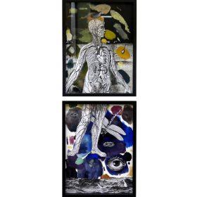Palette numero 5 et palette numero bis de 13Bis exposition art urbain galerie art le Comoedia