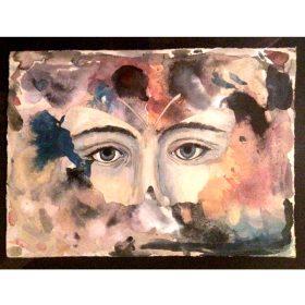 Les yeux de printemps de 13bis galerie art le Comoedia exposition art urbain