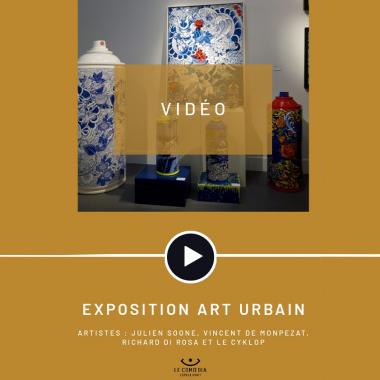 Vidéo : les artistes Julien Soone, Vincent De Monpezat, Richard Di Rosa et Le CyKlop au Comoedia Espace d'Art
