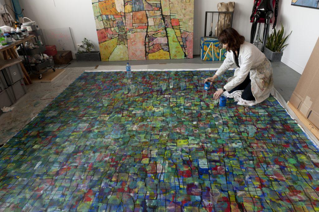 nansky atelier ill artiste le comoedia espace art patrice bouvier galerie gallery art contemporain brest finistere