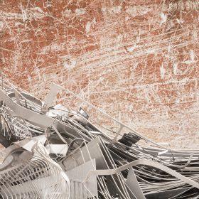 Photographie de JPH objets métaliques art urbain art contemporain street art galerie exposition vente contemporain finistere bretagne culture tourisme