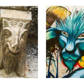 Photographie de JPH félins exposition art urbain galerie art le Comoedia