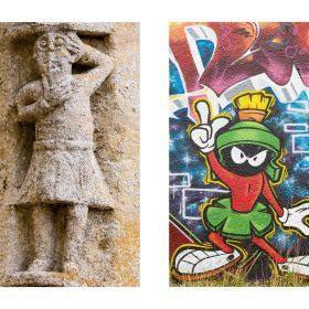 Photographie de JPH art urbain exposition street art sculpture et graffiti galerie art le Comoedia