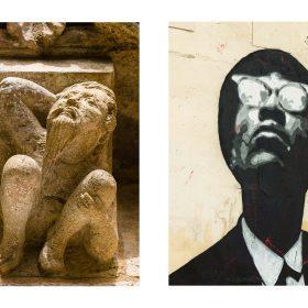 Photographie de JPH noir et blanc galerie art le Comoedia exposition art urbain