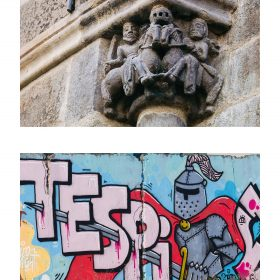Photographie soldats de JPH graffiti et sculpture expositon art urbain galerie art le Comoedia