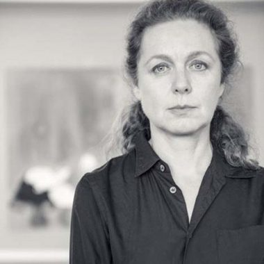 Photo portrait noir et blanc Françoise Pétrovitch