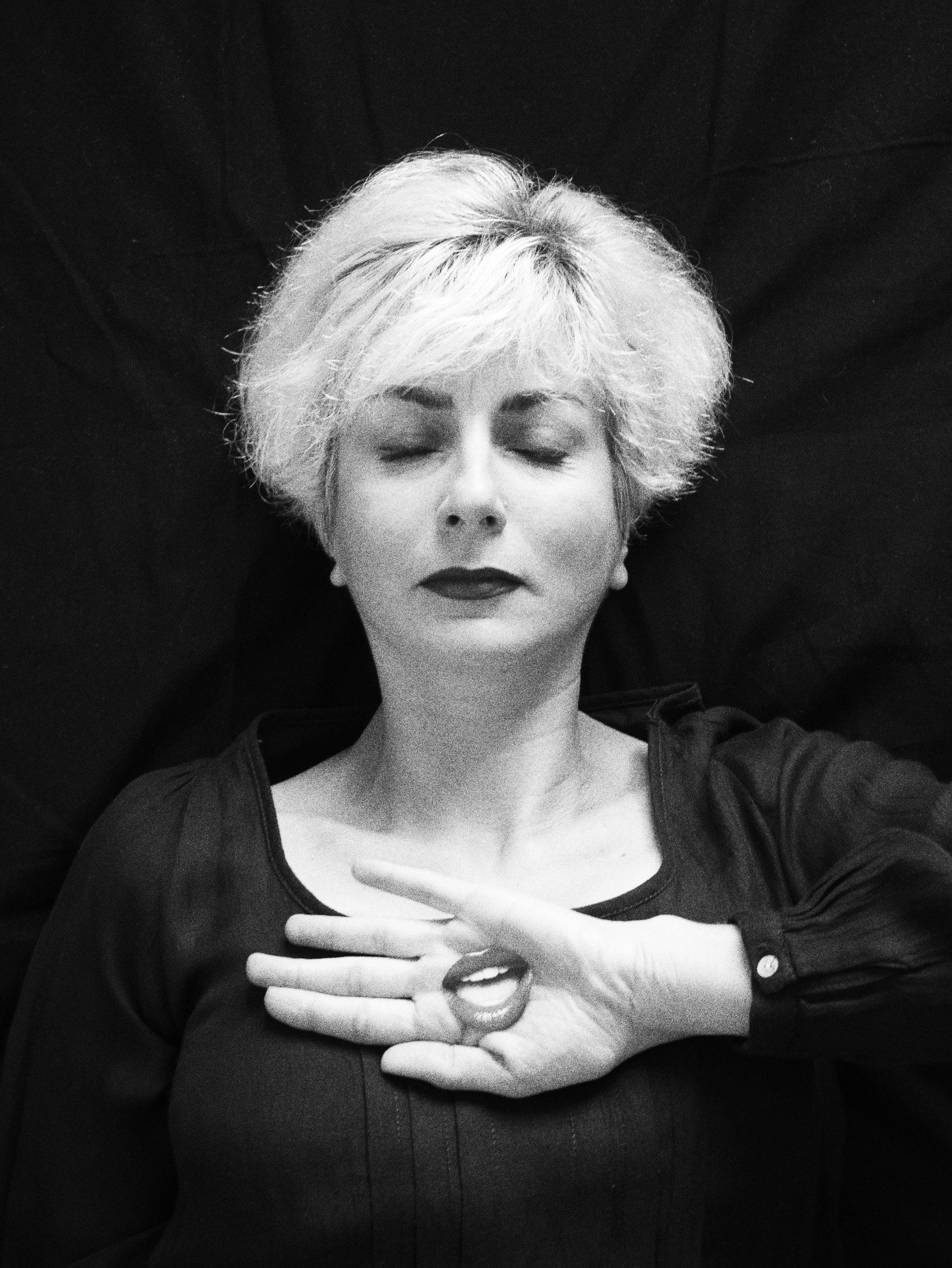 Photo - Portrait - Noir et blanc - Nelly Sanchez